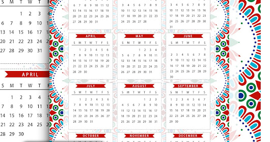English Calendar Wallpaper : Free printable one page calendar kalender freebie