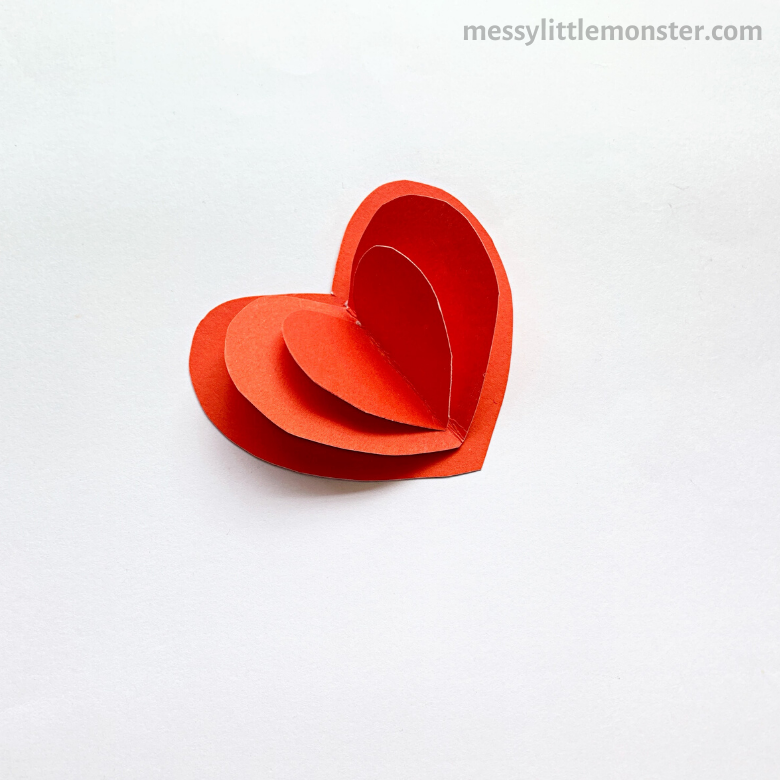 3d heart craft