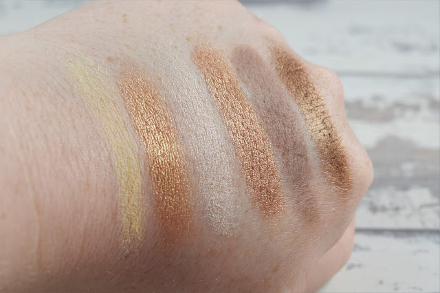 W7 Colour Me Buff Natural Nudes Eye Colour Palette Swatches