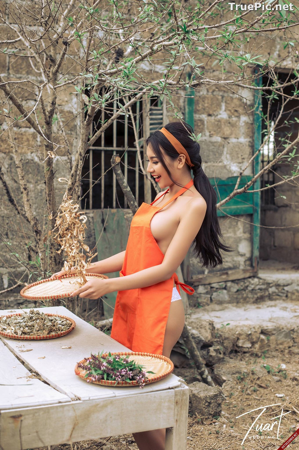 Image Vietnamese Hot Model - Two Sexy Girl In The Valley - TruePic.net - Picture-3