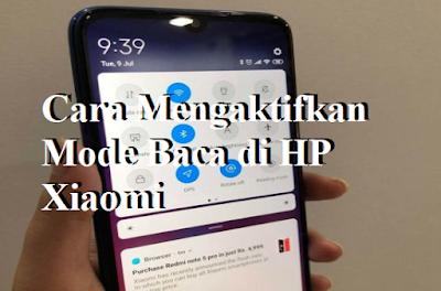 Cara Mengaktifkan Mode Baca di HP Xiaomi