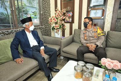 Polda Jatim dan PW Muhammadiyah Dukung Pemerintah Menjaga dan Memelihara Keberagaman di Jatim