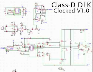 Power Amplifier Class-D D1K Clocked