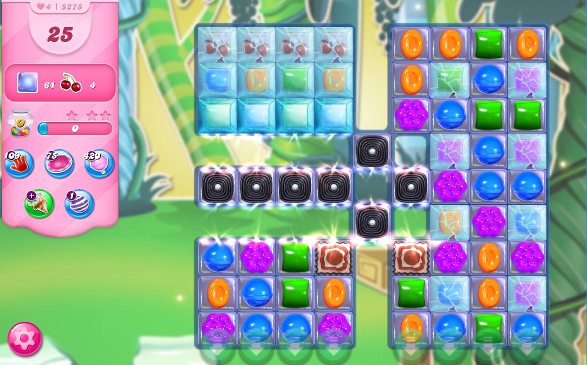 Candy Crush Saga level 5278