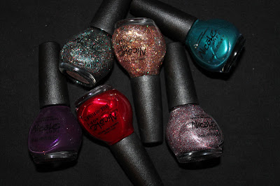 Nicole by OPI Kardashian Kollection for Holiday 2012 Swatches & Review
