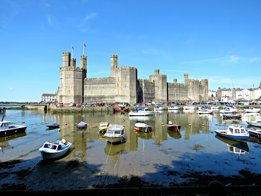 Who needs Carcasonne when you've got Caernarfon?