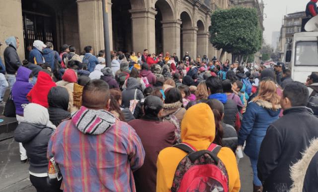 Colonos de Xochimilco protestan por falta de servicios  ¡