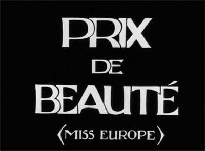 Louise Brooks Society: Prix de beauté