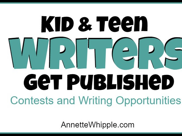 How Can Kids and Teens Get Published?