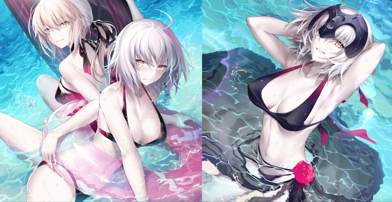 Fate Swimsuit [Wallpaper Engine Anime]