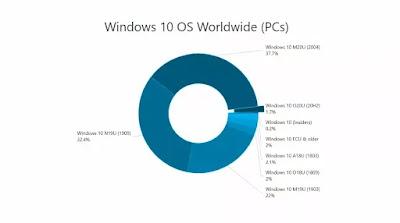 النسخة 2004 من Windows 10