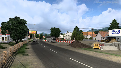 Map ICRF ETS2 1.41 Support Convoy