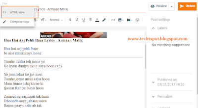Insert Ads Within Your Post Content in Blogger 2