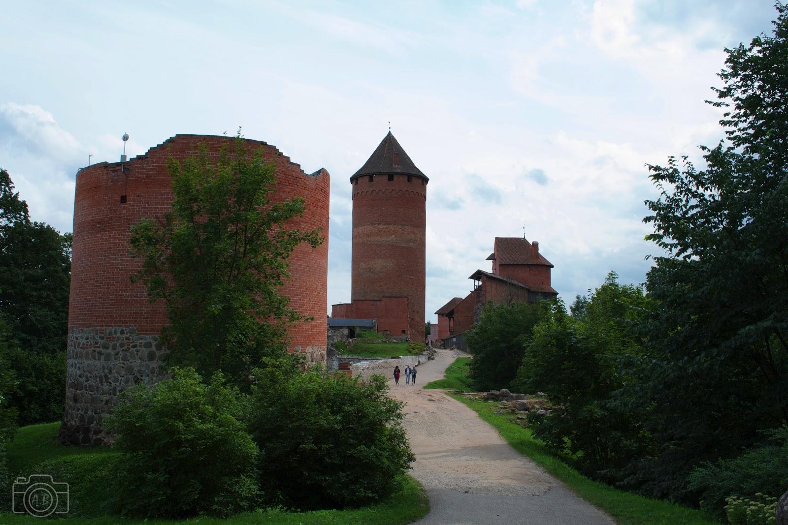 Château de Turaïda sigulda photographie carnet voyage Nikon D3100