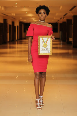 Victoria Michaels win Model Of The Year At 2016 Ghana Models Awards