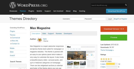 Social Media: Los Mejores Temas de WordPress para Revistas