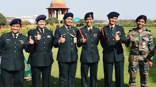 Big decision of Indian Army, for the first time five women officers were promoted to the rank of Colonel