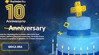 Logo ''PS Plus Anniversary '': vinci gratis 130 abbonamenti digitali