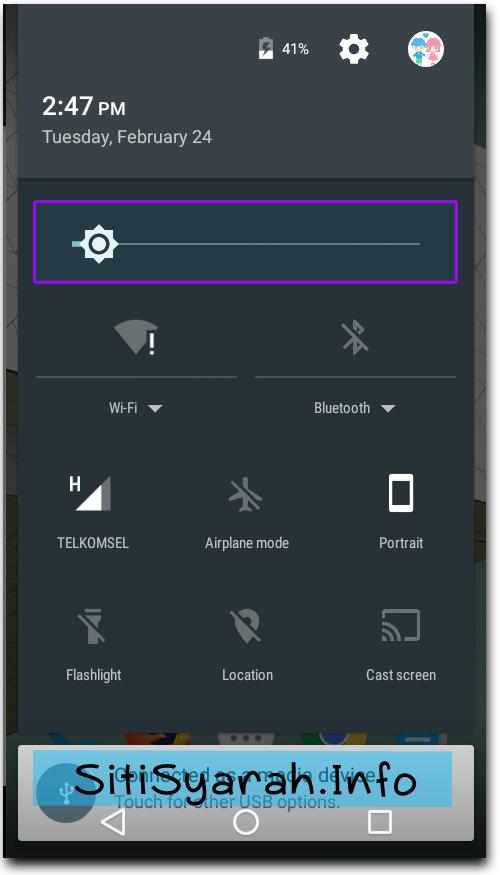 mencegah baterai android cepat habis