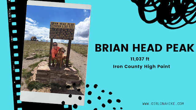 Brian Head Peak, Iron County High Point