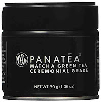Panatea ceremonial grade matcha green tea