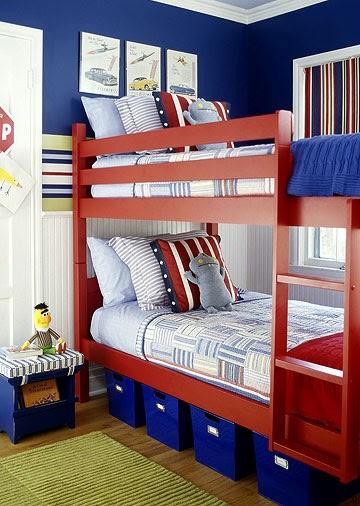 Boys Room Interior Design: New Home Interior Design: A Boys Room To Grow Into