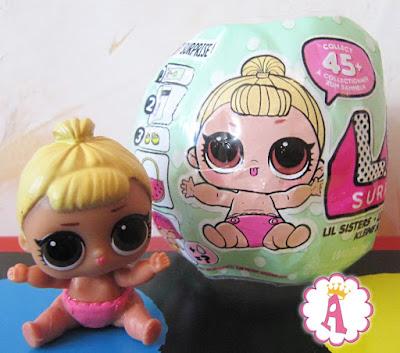 Пупсик с обложки шара куклы LOL Surprise Dolls Season 2