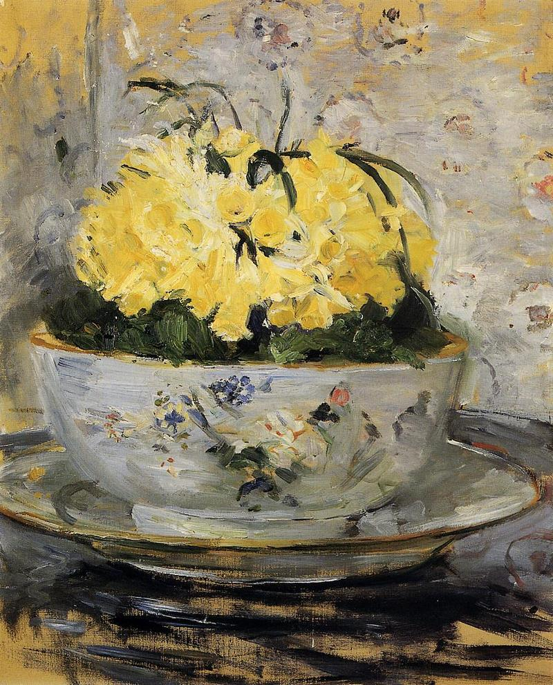 Daffodils. Berthe Morisot · 1885