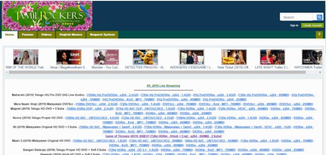 Tamilrockers.com   Tamilrockers   Tamilrockersnew link list