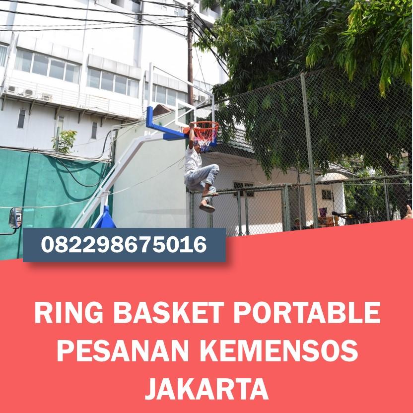 Ring Basket Portable Pesanan KEMENSOS JAKARTA