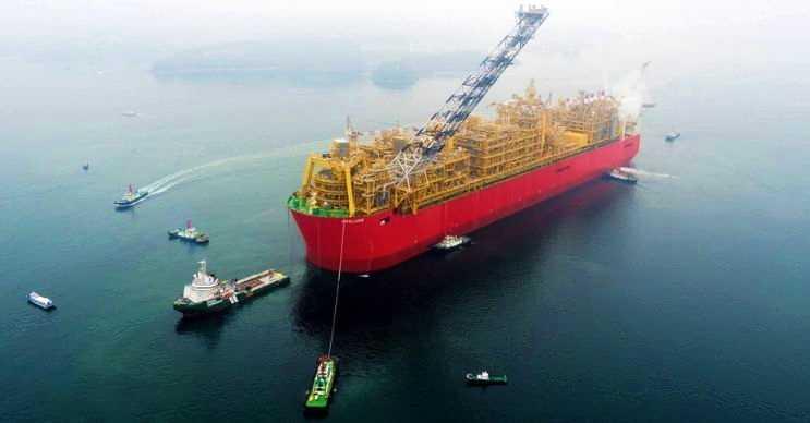 Prelude FLNG gemiden ziyade yüzen bir doğal gaz platformudur.