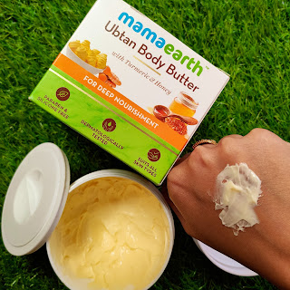 MAMAEARTH UBTAN BODY BUTTER REVIEW || PEACHYPINKPRETTY