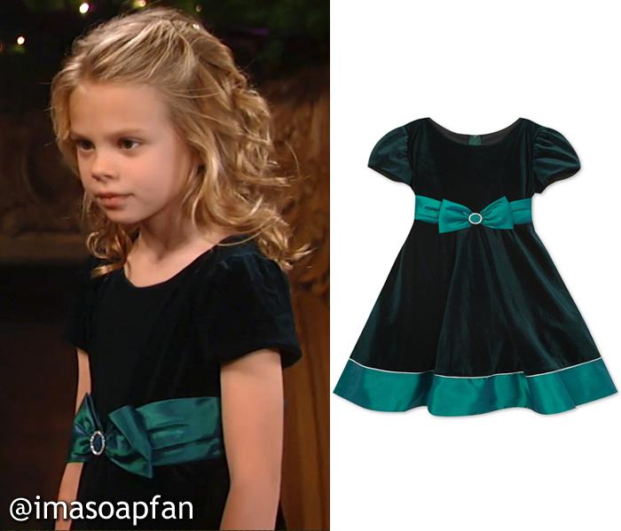 Charlotte Cassadine S Green Velvet Dress General Hospital Season