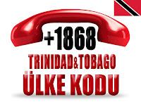 +1 868 Trinidad ve Tobago ülke telefon kodu