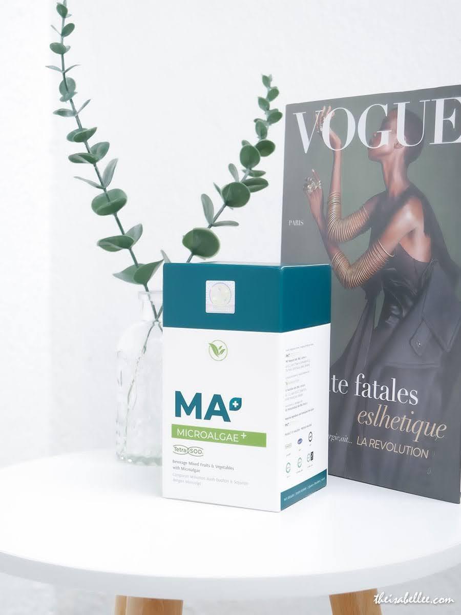Vii Nutrition Microalgae+ (MA+) blogger review