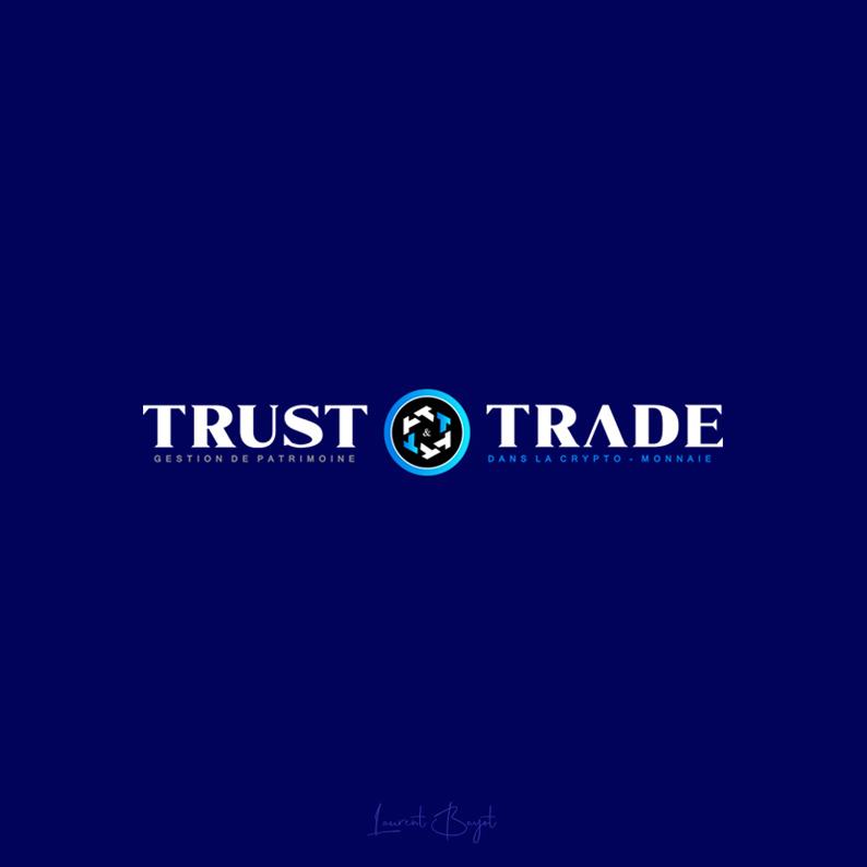logo blanc luxe crypto-monnaie