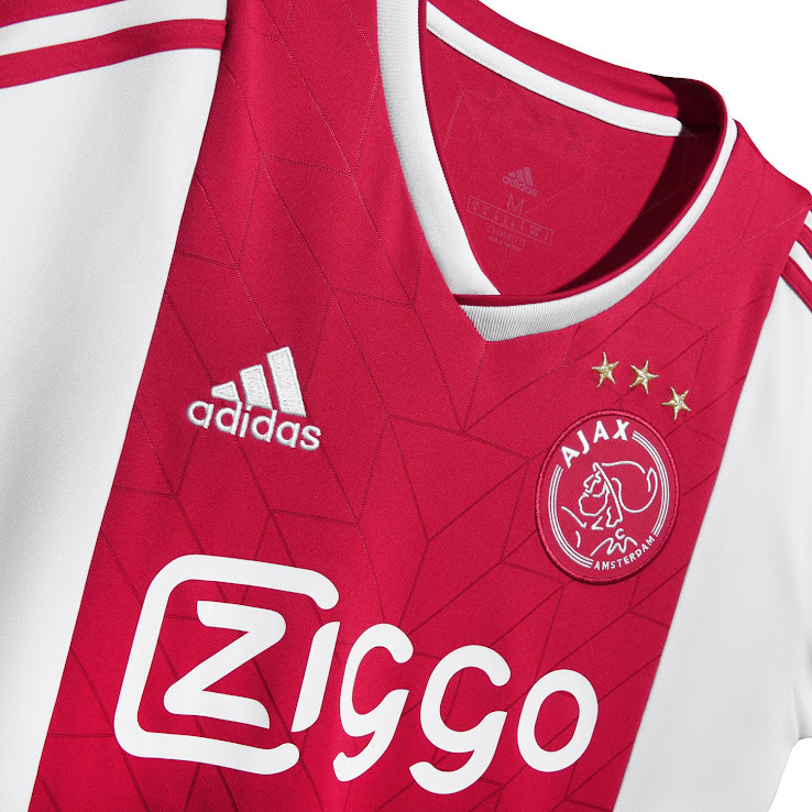 2f3b3a6ab Ajax 18-19 Home Kit Released - Footy Headlines