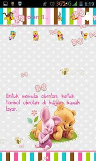BBM Mod Wnnie The Pooh 2.12.11 Apk