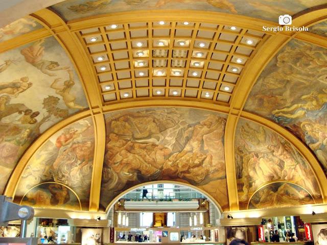 Galerias Pacifico (Afrescos do domo) - Buenos Aires