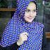 Inspirasi model hijab segi empat terbaru dengan motif polkadot yang memikat hati