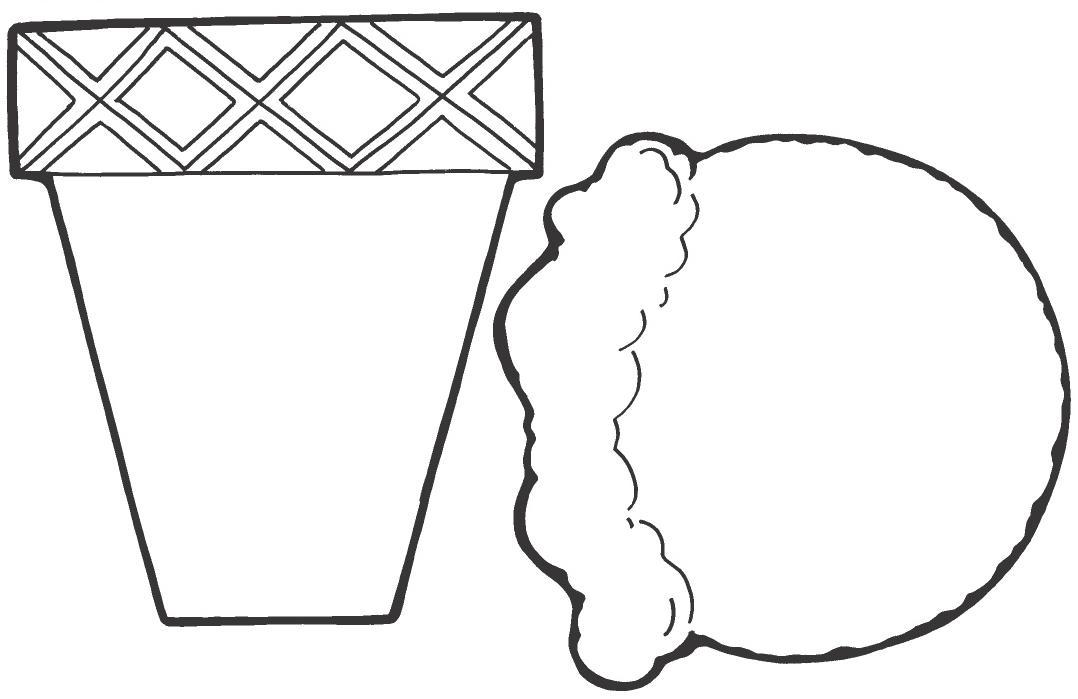 Como Dibujar Y Colorear Helados: Dibujos Para Colorear De HELADOS
