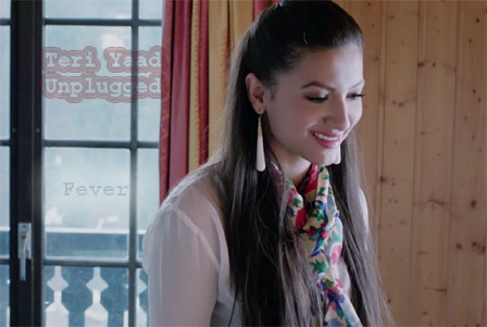 still Gauahar Khan from song Teri Yaad