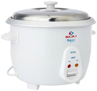 Bajaj RCX 5 1.8-Litre Rice Cooker | Best Electric Rice Cookers in India | Best Rice Cooker Reviews