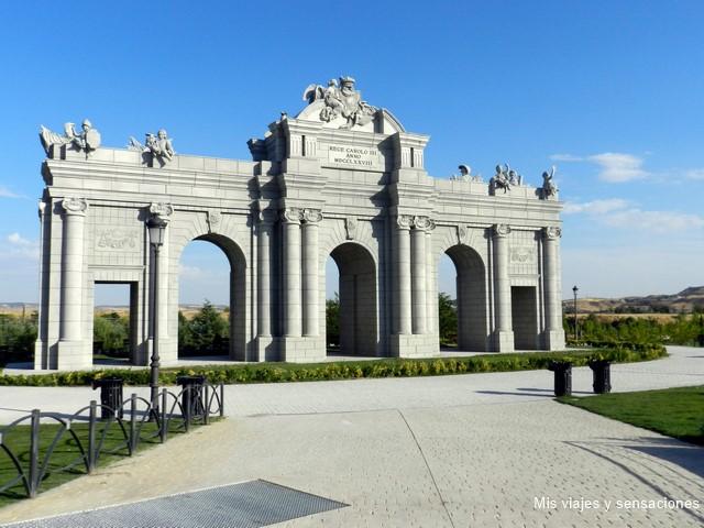 Puerta de Alcalá, Parque Europa, Torrejón de Ardoz (Madrid)