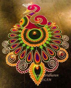 Best rangoli design for diwali 2019 | best diwali rangoli design