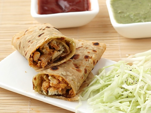 Paneer Roll Delicious Snacks Recipe at Home