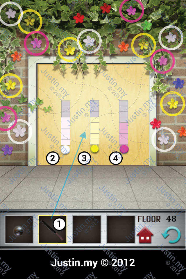 The Gossip Update 100 Floors Cheat Hint And Answer Of