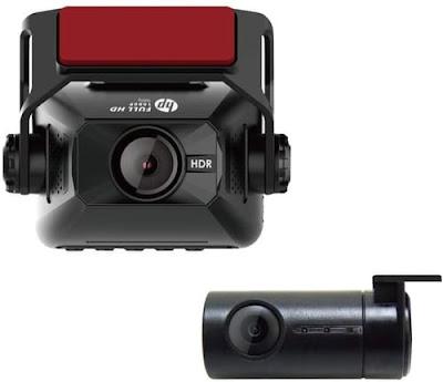 HP F660G Dual Lens Car Dash Cam