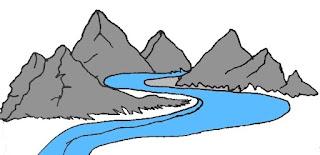 Poem on River in Hindi