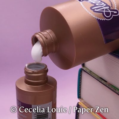 Quilling glue bottle - how to pour